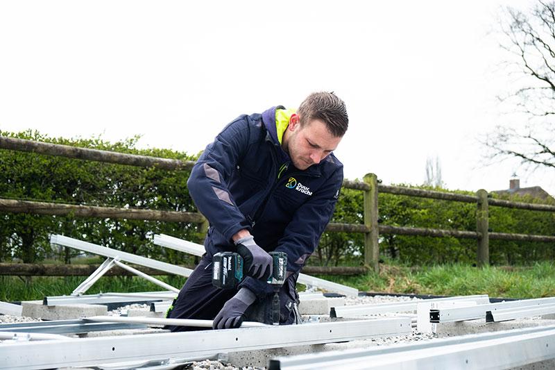Installateur zonnepanelen